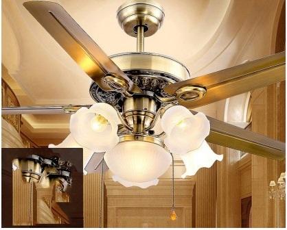 Quạt trần đèn TD-38 luxury
